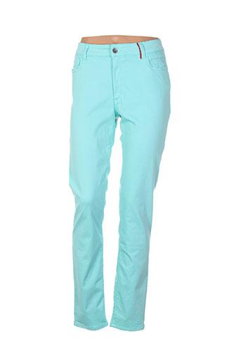 couturist pantalons femme de couleur vert
