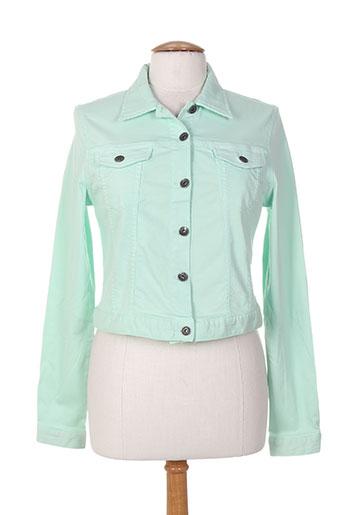 couturist vestes femme de couleur vert