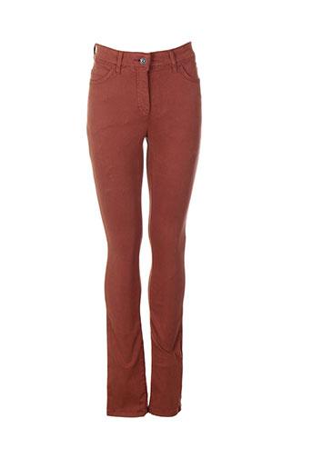 couturist pantalons femme de couleur marron