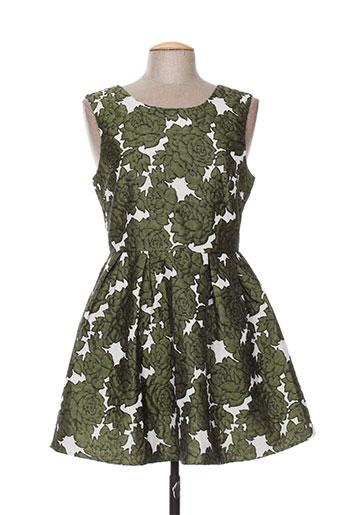 lucy EFFI_CHAR_1 co robes femme de couleur vert
