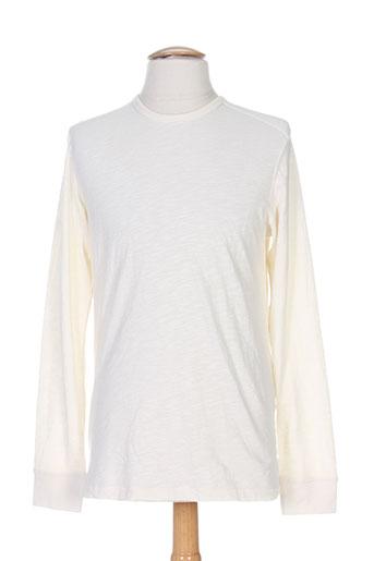 jack EFFI_CHAR_1 jones t-shirts homme de couleur beige