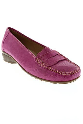 benexa chaussures femme de couleur rose