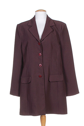 pussy manteaux femme de couleur rouge