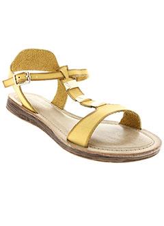 Sandales/Nu pieds jaune DELIRES DE FILLE pour femme