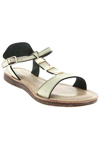 delires de fille chaussures femme de couleur beige