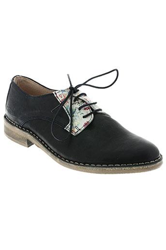 nice chaussures femme de couleur bleu
