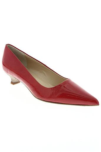 elizabeth stuart chaussures femme de couleur rouge