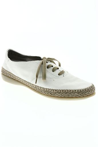 the flexx chaussures femme de couleur blanc