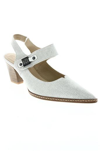 france mode chaussures femme de couleur gris