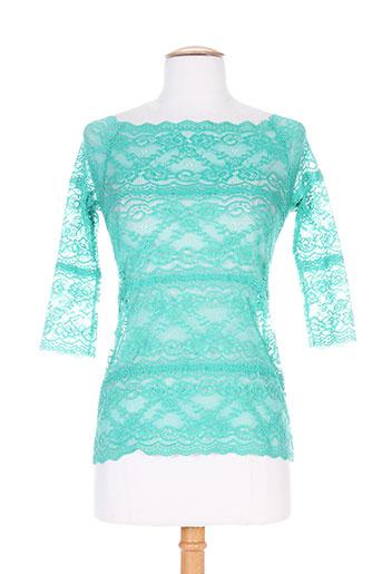 patrick mendes chemises femme de couleur vert