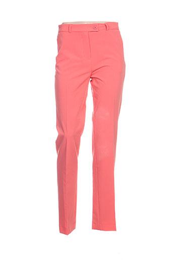 amz pantalons femme de couleur rose