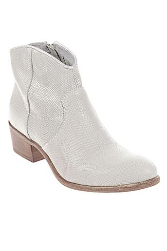 mjus chaussures femme de couleur gris