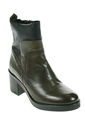mjus chaussures femme de couleur vert
