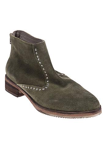 paradise kiss chaussures femme de couleur vert