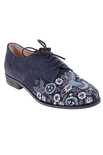 lundi bleu chaussures femme de couleur bleu