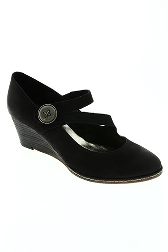 alain bastiani chaussures femme de couleur noir