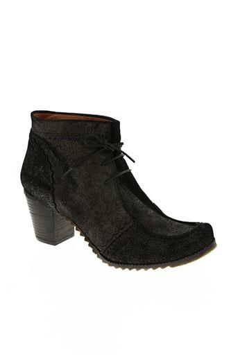 libre comme l'air chaussures femme de couleur marron