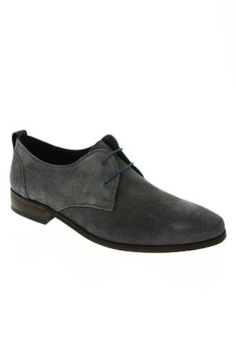 sioux chaussures homme de couleur bleu