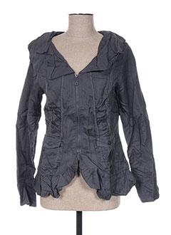 Veste chic / Blazer gris VIRGINIE & MOI pour femme