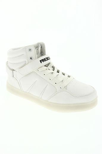 freegun chaussures garçon de couleur blanc