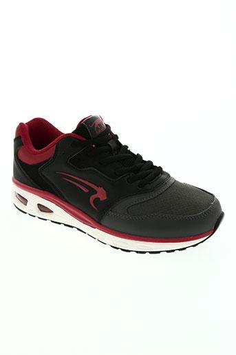 airness chaussures femme de couleur rouge