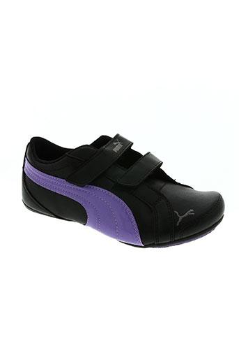 puma chaussures fille de couleur violet