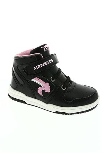airness chaussures fille de couleur rose