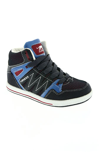 airness chaussures garçon de couleur bleu