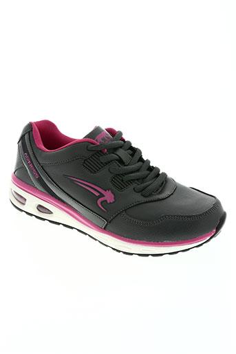airness chaussures fille de couleur gris