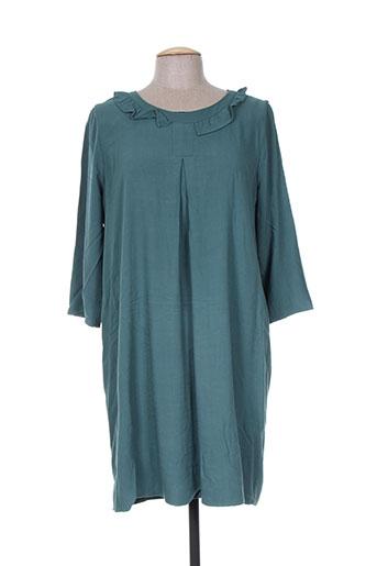 acoté robes femme de couleur vert