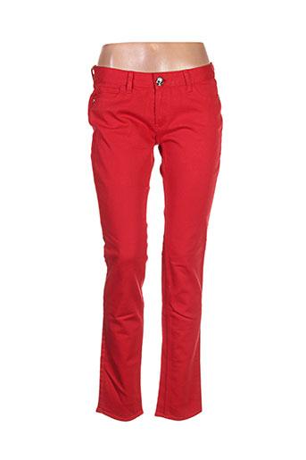 lord richards jeans femme de couleur rouge