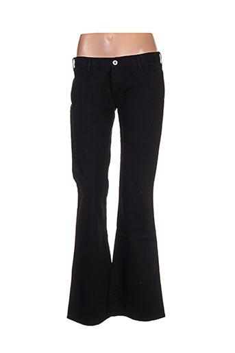 la brigada internacional pantalons femme de couleur noir