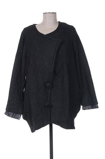 Veste casual noir ANNE TURTAUT pour femme