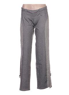 Pantalon casual gris ANNE TURTAUT pour femme