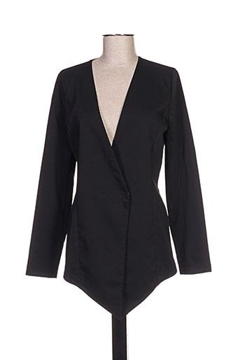 Veste casual noir QUATTRO pour femme