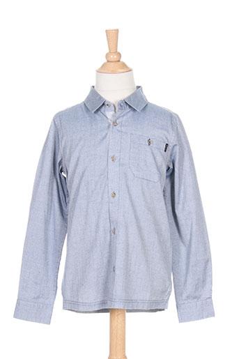 bench chemises garçon de couleur bleu