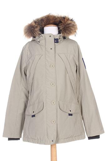 brekka manteaux femme de couleur beige