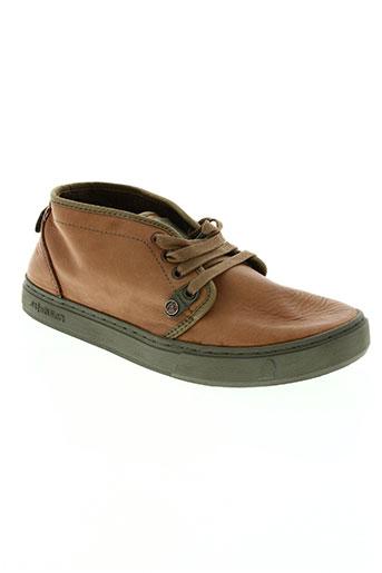 satorisan chaussures homme de couleur marron