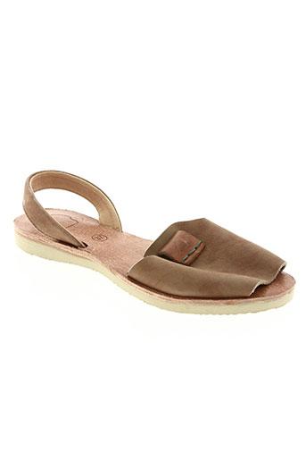 satorisan chaussures femme de couleur marron