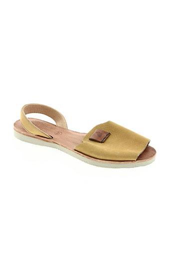 satorisan chaussures femme de couleur jaune