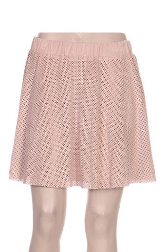 Jupe courte rose VILA pour femme
