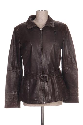 gerry urban vestes femme de couleur marron