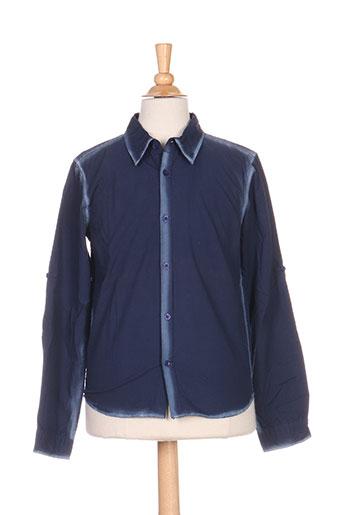 Chemise manches longues bleu REDSOUL pour garçon