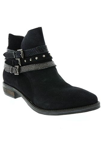reqins chaussures femme de couleur bleu