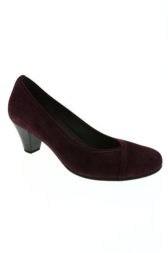 gabor chaussures femme de couleur violet