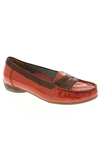 gabor chaussures femme de couleur orange