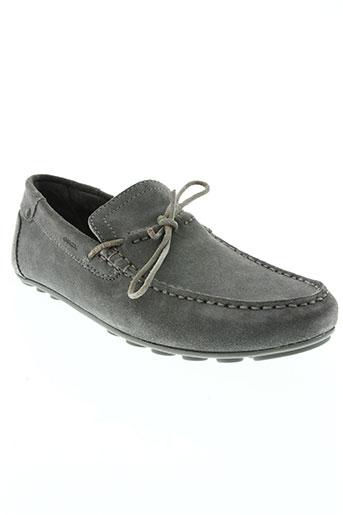 geox chaussures homme de couleur bleu