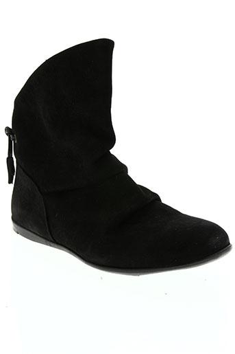 ramdam chaussures fille de couleur noir