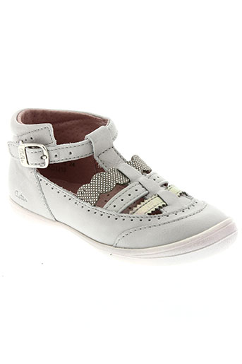aster chaussures fille de couleur gris