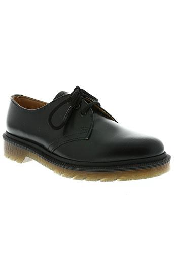 dr martens chaussures garçon de couleur noir